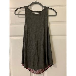 Juicy Couture Grey & Pink Leopard Tank Top NWT